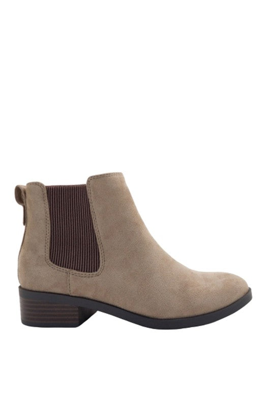 Warm Taupe Booties