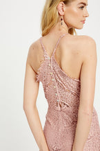 Load image into Gallery viewer, Lace Halter Dress