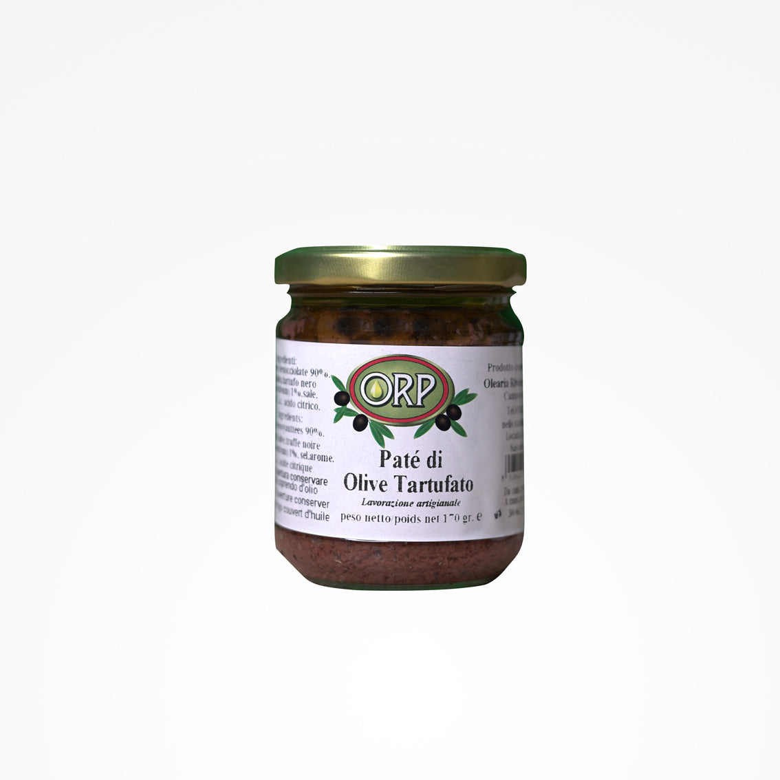 Truffle olive pate - 180 gr.