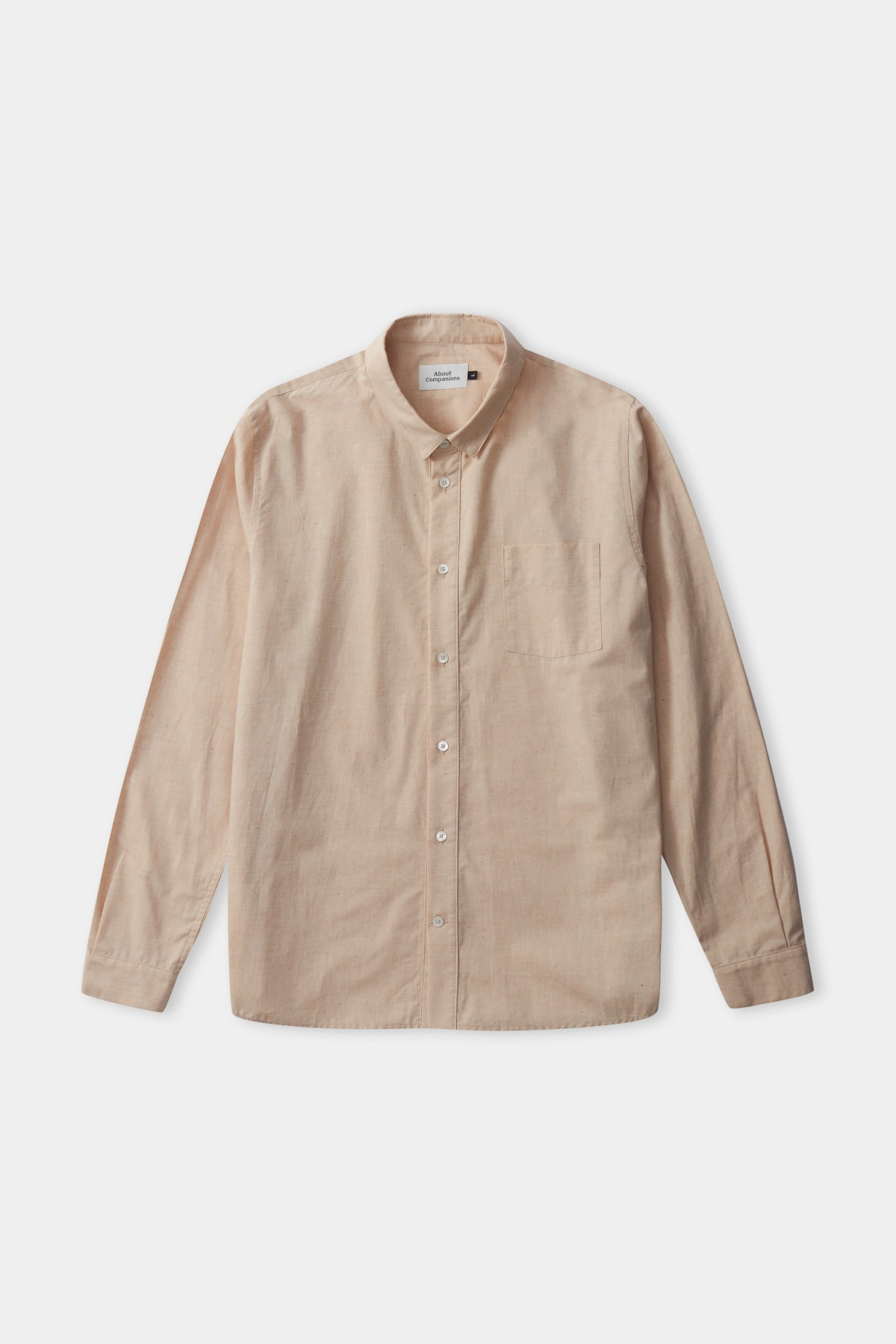 SIMON shirt eco color grown camel