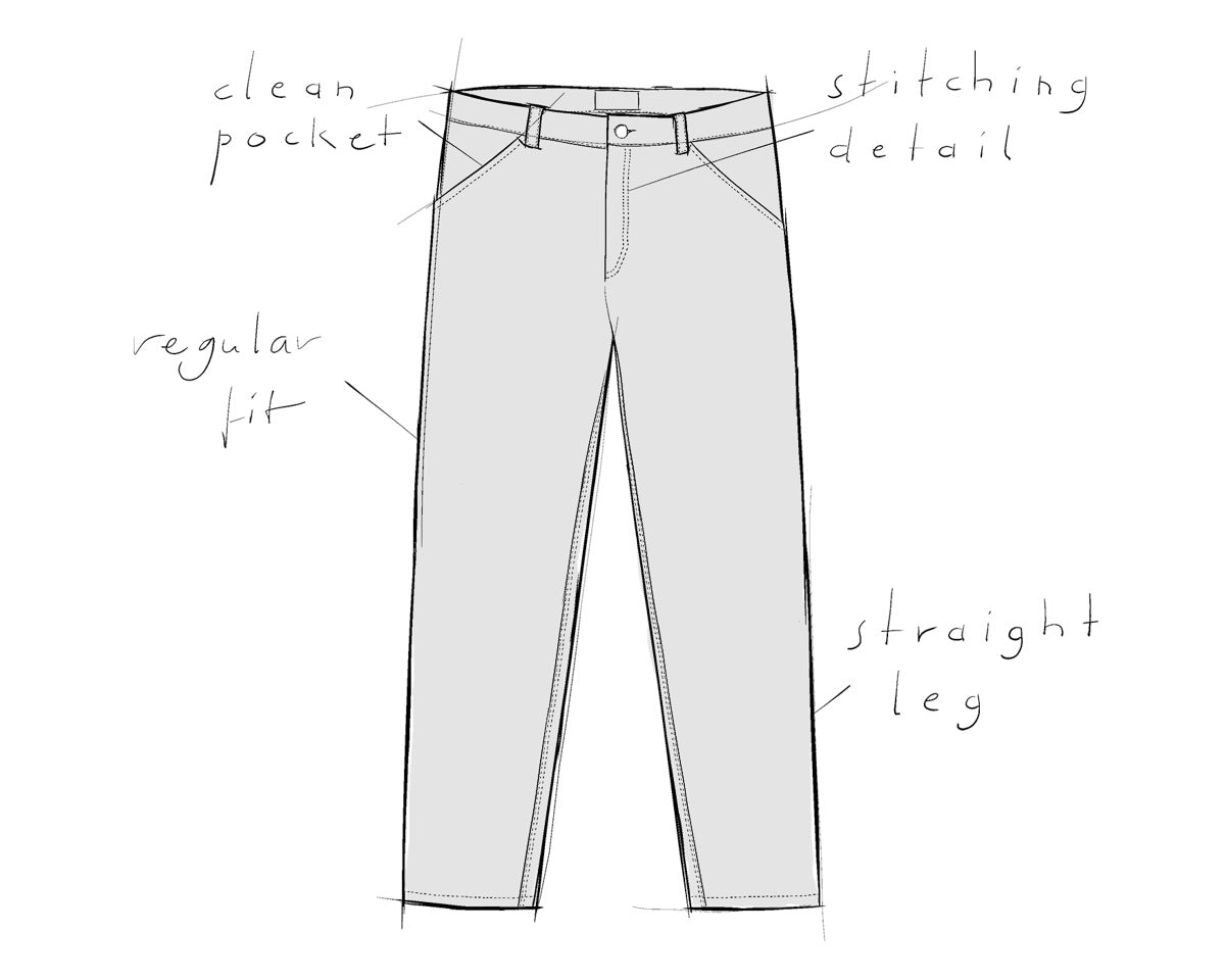 menswear trousers OLF About Companions