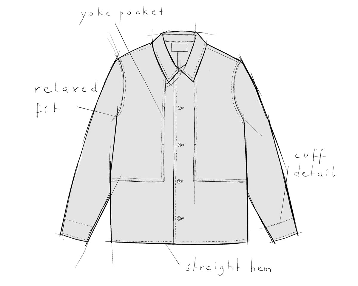 menswear overshirt OWE About Companions