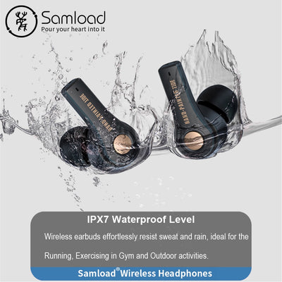 New 2020 Tws Wireless Headphones Bluetooth 5.0 Earphones Sports Waterproof Earbuds With Built-in Microphone HD Call 4H Playtimes (50% OFF)