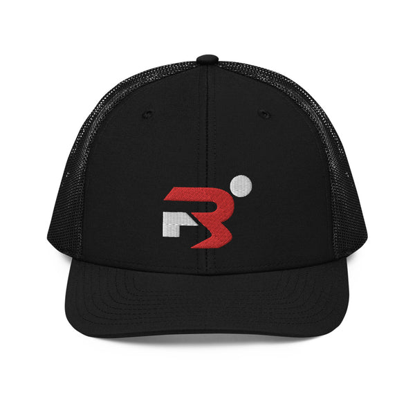 Region 3 All Black Trucker Cap