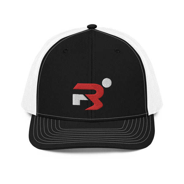 Region 3 Black & White Trucker Cap
