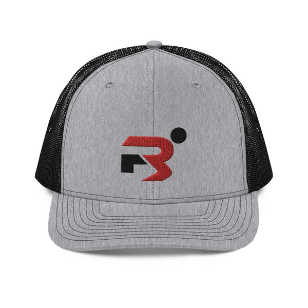 Region 3 Black & Heather Trucker Cap