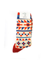 Load image into Gallery viewer, Geometric pattern socks