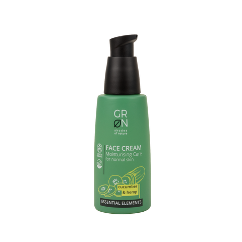GRN Essential Elements - Face Cream Cucumber & Hemp 50ml