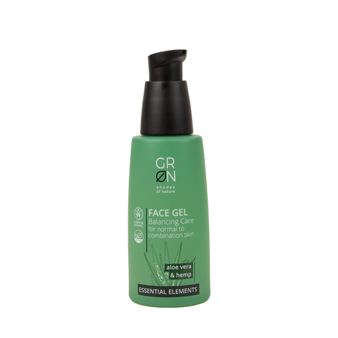 GRN Essential Elements - Face Gel Aloe Vera & Hemp 50ml