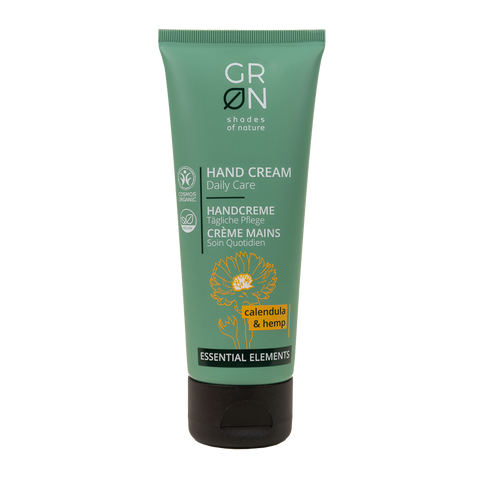 GRN Essential Elements - Hand Cream Calendula & Hemp 75ml