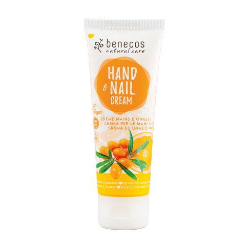 Benecos Care Hand- & Nail Cream, 75ml