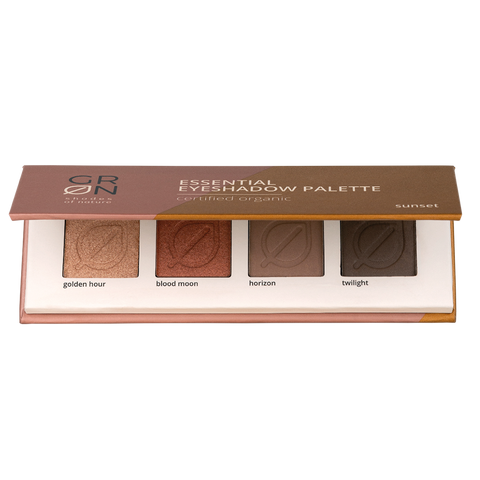 GRN Organics Essential Eyeshadow Palette - Sunset