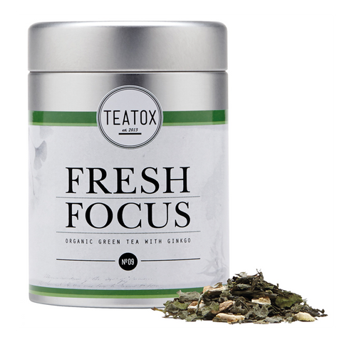 Teatox Fresh Focus - Organic Green Tea With Gingo