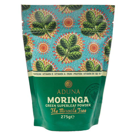 Aduna Moringa Powder - Organic Green Boost 275g