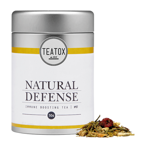 Teatox Natural Defense - Organic Green Tea With Ginger