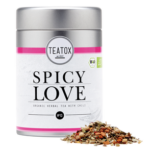 Teatox Spicy Love - Organic Herbal Tea With Chili