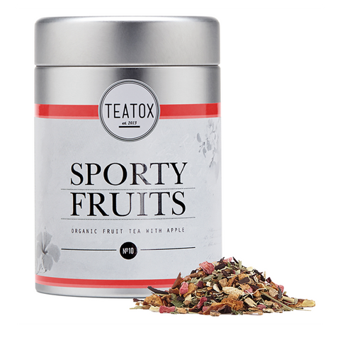 Teatox Sporty Fruits - Organic Fruit Tea With Apple