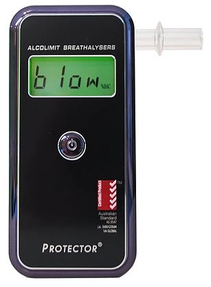 AlcoLimit Professional Protector Breathalyzer meets Australian Standards, Postage Included Within Australia, Buy Online from  AlcoDrugLimit