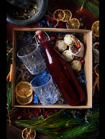 Christmas Mulled Wine Hamper