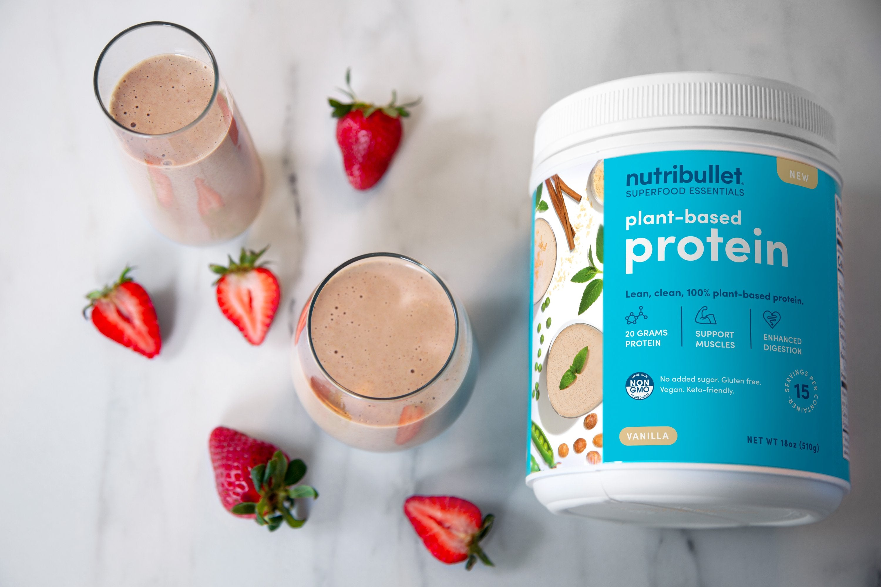 Strawberry-Banana Protein