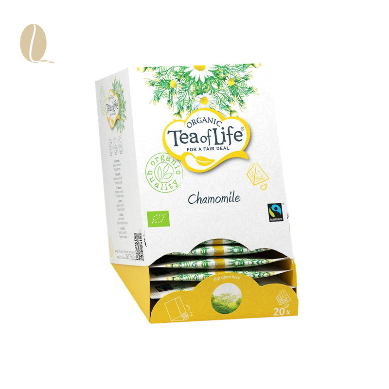 Tea of Life kamille pyramid (per 5 doosjes)