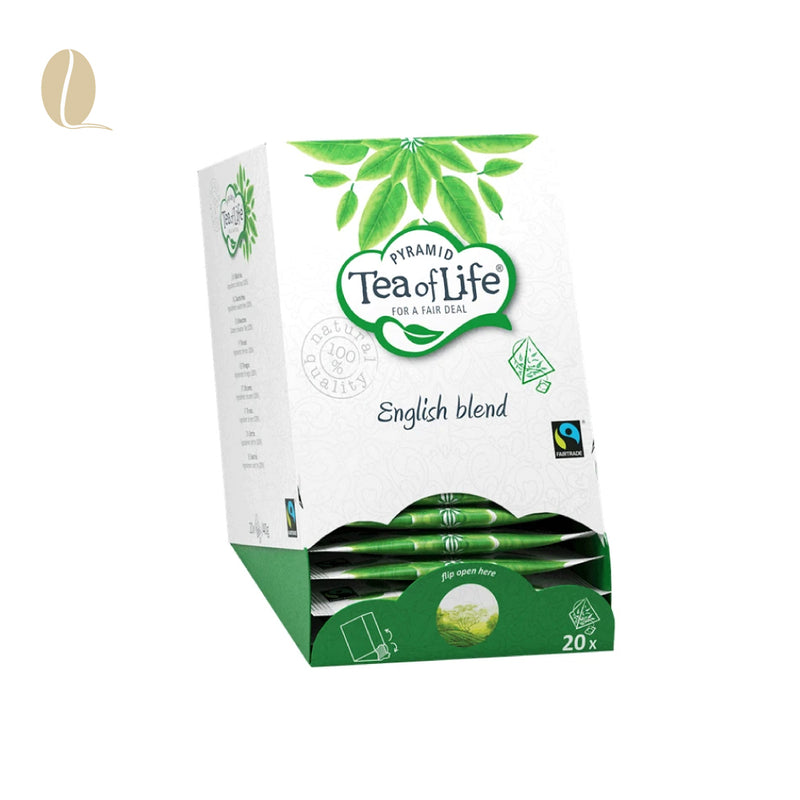 Tea of Life english blend pyramid (per 5 doosjes)