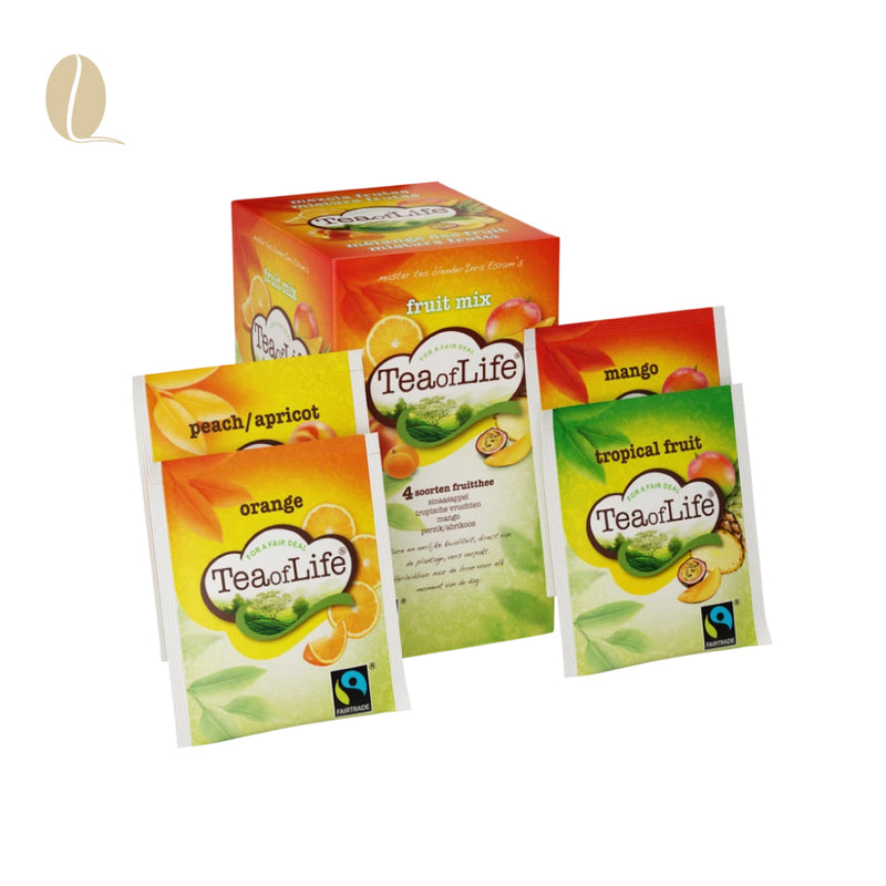 Tea of Life fruitmix envelop (per 4 doosjes)