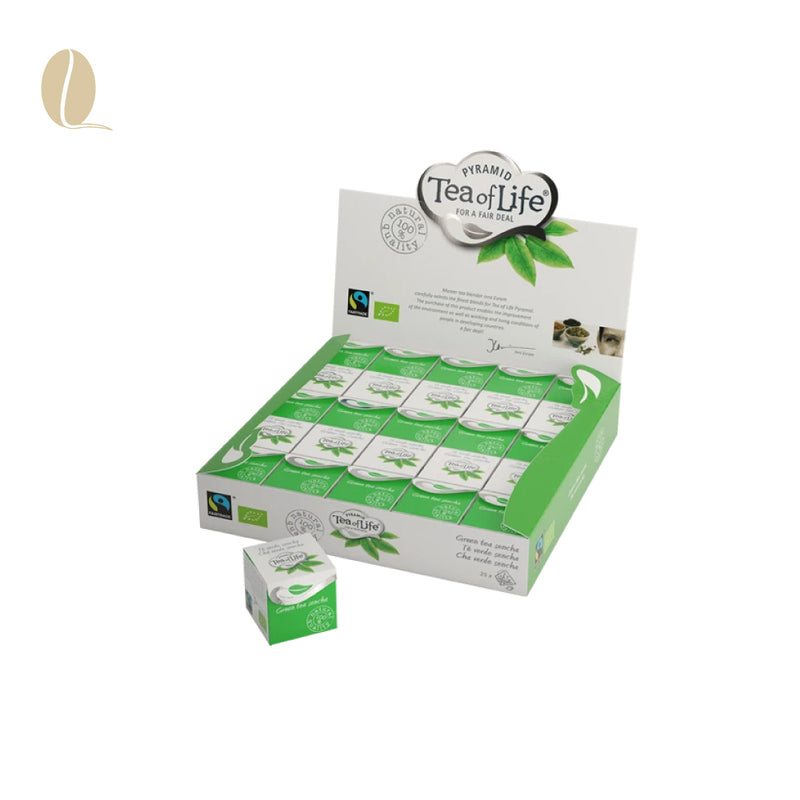 Tea of Life green tea sencha cubes