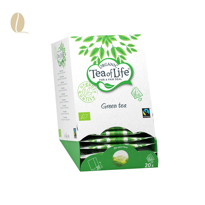 Tea of Life green tea pyramid (per 5 doosjes)