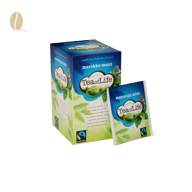 Tea of Life maroccan mint envelop (per 4 doosjes)