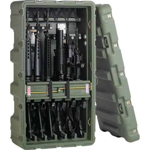 Hardigg 6 Pack Transport/Rifle Rack M4, M16
