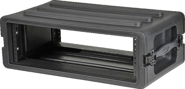 1SKB-R3S  -  3U Shallow Roto Rack with Steel rails (front/back), 10.5