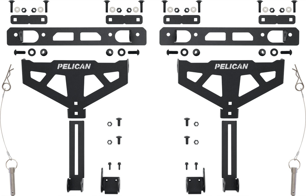 Pelican XBEDMT001B Cross-Bed Mount (Toyota Deck Rail) for BX135 & BX255 Cargo Cases
