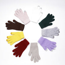 Load image into Gallery viewer, Winter Wool Telefingers Gloves Knitting Keep Warm Gloves Outdoor Skidproof Fitness Gloves 2019 Warm Female Lovely Sport Gloves