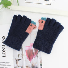 Load image into Gallery viewer, 2020 New Women Autumn Winter Half Finger Knitted Gloves Soft Warm Elastic Fingerless Gloves