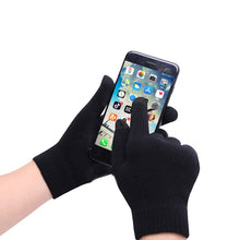 Load image into Gallery viewer, Women And Men Winter Warm Knitted Gloves 3d Printed Touch Screen Gloves For Phone Screen Winter Autumn Non-Slip Mitten