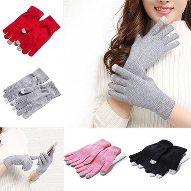 Winter Thermal Touch Screen Adult Warm Gloves Adult Insulation Touch Screen Winter Warm Knit Gloves Smartphone Hand Warmer