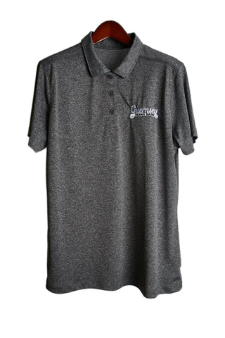 Guernsey golf shirt - dark grey