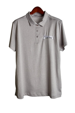 Guernsey golf shirt - light grey