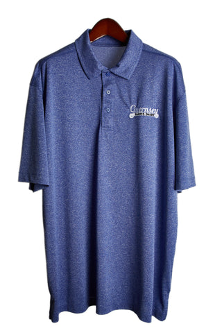Guernsey golf shirt - blue