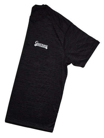 Guernsey Black  Shadow Tonal Heather Athletic T Shirt