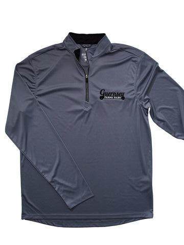 Guernsey Gray Athletic Long Sleeve Quarter Zip