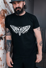 Load image into Gallery viewer, Adult Death's Sphynx Head Moth Graphic T-shirt - Unisex