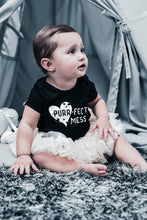 Load image into Gallery viewer, Purrfect Mess- Kids and Baby Graphic T-shirt