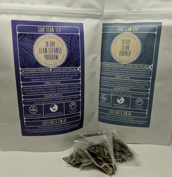 28 Day Cleanse Program - Tea Bags