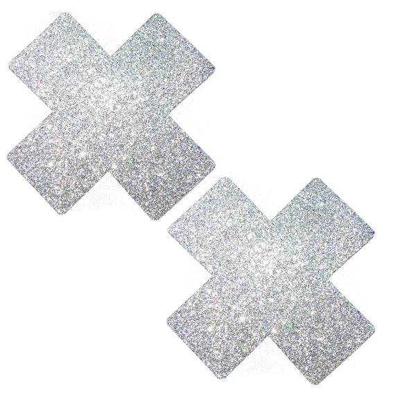 Silver Pixie Dust X-Factor Pasties NN-SPD-XF-NS