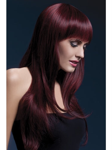 Sienna Wig - Black Cherry - VIP NovelTease