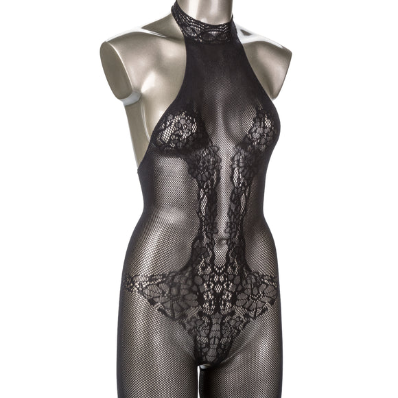 Scandal Plus Size Halter Lace Body Suit SE2712983