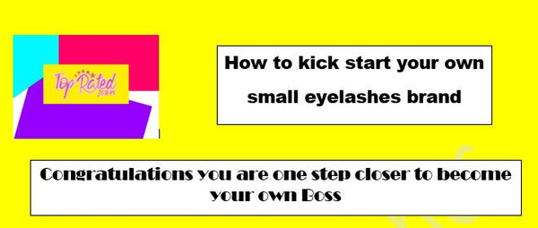 PDF how to Kick start your Eyelashes Brand under $200