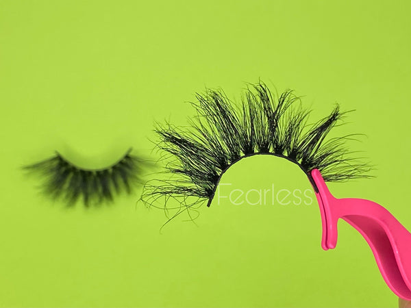 Fearless 25mm Mink Lashes ( single)